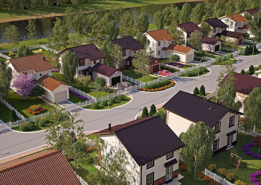 визуалка поселка